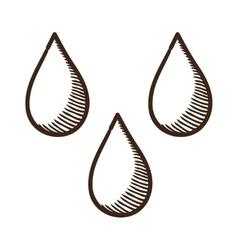 Drops symbol vector