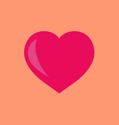 heart sign vector image