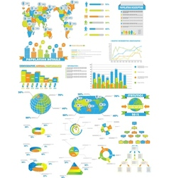 Infographic web collection toy vector