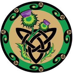 Celtic style vector