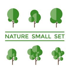 digital nature small vector image