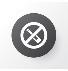 Forbidden icon symbol premium quality isolated no vector