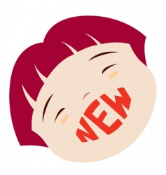 new icon vector image