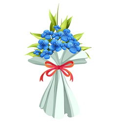 A boquet of flowers vector