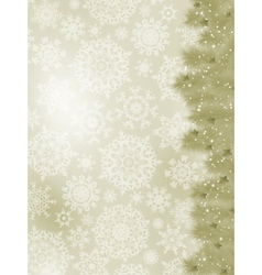 elegant christmas card vector image