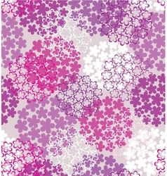 Decorative seamless flower vector