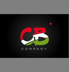 Cb c b alphabet letter logo combination icon vector