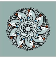 Mandala set Round pattern Circle Tattoo vector image