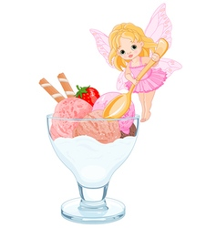 Ice Cream Fairy vector image vector image