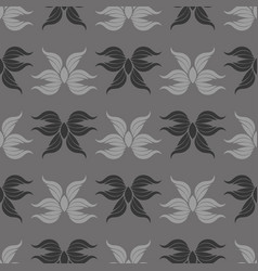 seamless abstract vintage gray pattern vector image vector image