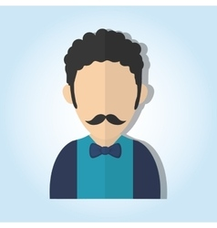 Man icon design vector