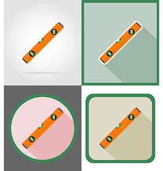 Repair tools flat icons 16 vector