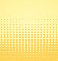 Beige Halftone Backdrop vector image vector image