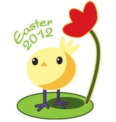 Easter 2012 vector image