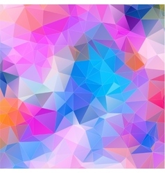 Multicolor mosaic composition with ceramic shapes vector