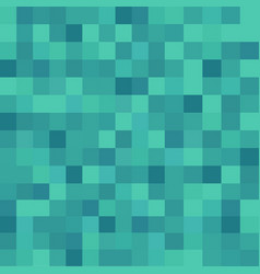 Square censor pixel in green color vintage vector