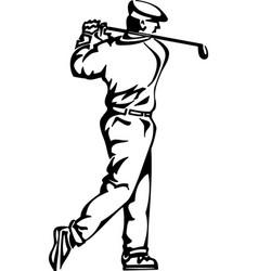 Acg00237 golfer05 vector