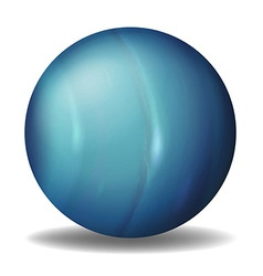 Planet uranus vector