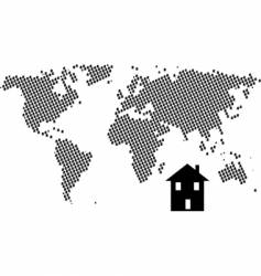 House world vector