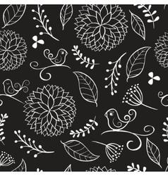 Summer floral patterns vector