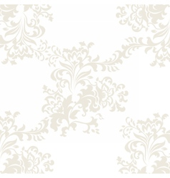 Floral baroque ornament pattern vector