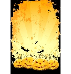 Grungy halloween vector