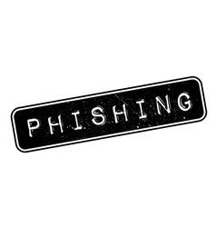 Phishing rubber stamp vector