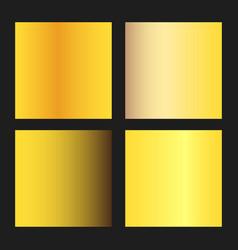 golden gradients vector image
