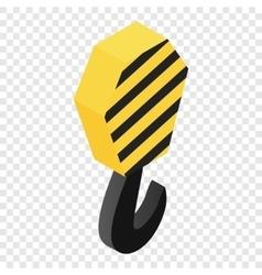 Crane isometric 3d icon vector