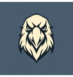 Eagle head logo emblem template vector