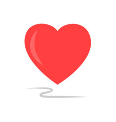 heart sign isolated vector image