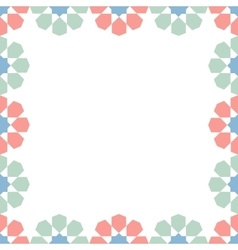 moroccan zellige seamless vector image vector image