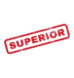 Superior rubber stamp vector