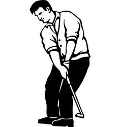 Acg00238 golfer06 vector
