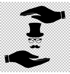 Hipster style accessories vector