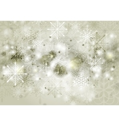 Abstract sepia Christmas background vector image