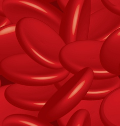 Blood cells seamless vector image