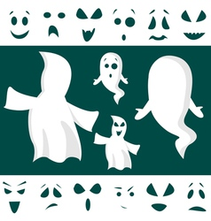 ghost kit vector image vector image
