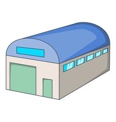 Warehouse building icon cartoon style vector