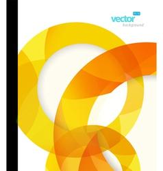 abstract circles vector image