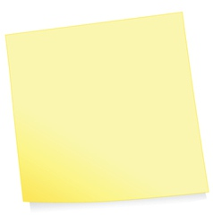 Adhesive note vector