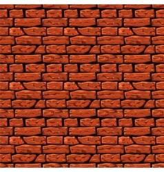Brick wall texture Eps8 vector image vector image