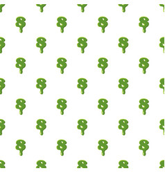 Numder 8 made of green slime vector