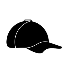 Isolated baseball hat design vector