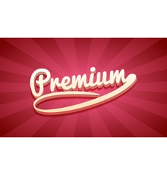 3d premium retro background vector