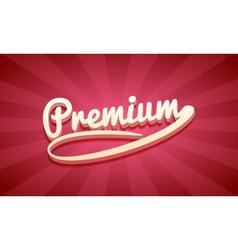 3d premium retro background vector