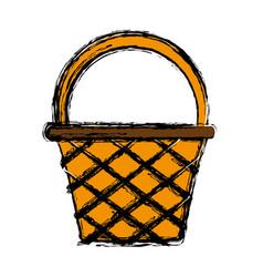 basket icon image vector image