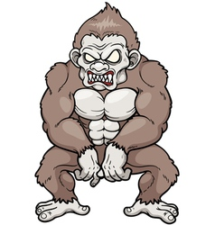 Monkey monster vector