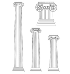 Set of ionic column vector