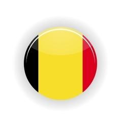Belgium icon circle vector